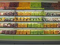 Fruits emballés frais photographie stock