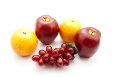 Fruits en plastique Photographie stock libre de droits