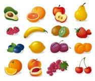 Fruits et baies illustration stock