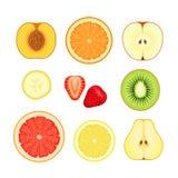 Fruits et baies Images libres de droits