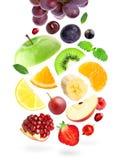 Fruits et baies de couleur Images stock
