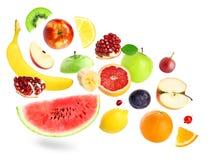 Fruits et baies de couleur Photo stock