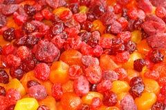 Fruits et baies secs Photos libres de droits