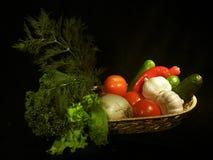Fruits et légumes Photographie stock