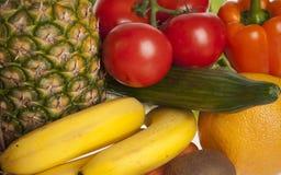 Fruits et légumes colorés Images libres de droits