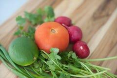 Fruits et légumes d'agrume Image stock