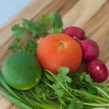 Fruits et légumes d'agrume Images stock
