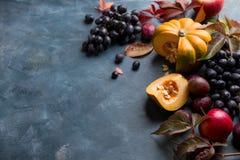 Fruits et légumes d'automne Photo stock