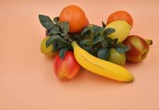 Fruits et légumes de Faux Images libres de droits