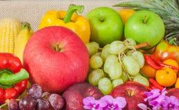 Fruits et légumes de plan rapproché Image libre de droits