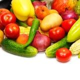 Fruits et légumes de ramassage Photos libres de droits
