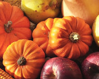 Fruits et légumes de saison Photos libres de droits