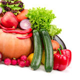 Fruits et légumes frais Images stock