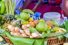 Fruits et légumes mélangés Photos libres de droits