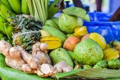 Fruits et légumes mélangés Photographie stock libre de droits