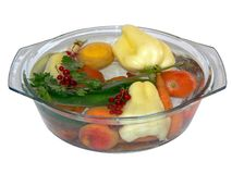 Fruits et légumes rincés 2 Photos stock