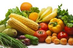 Fruits et légumes toujours de la vie Images libres de droits