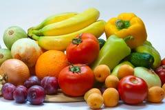 Fruits et légumes toujours de la vie Image libre de droits