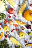 Fruits et l?gumes image libre de droits