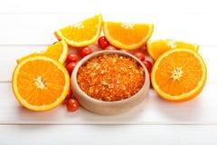 Fruits et minerais aromatherapy photo stock