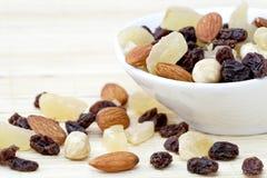 Fruits et noix secs Photos stock