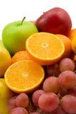 Fruits et raisins Photo libre de droits