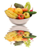 Fruits et veggies Images stock
