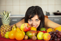 Fruits Everywhere Stock Photography
