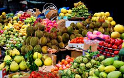Fruits exotiques Photo libre de droits