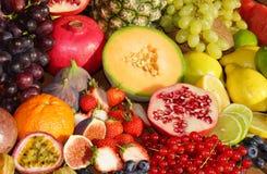 Fruits exotiques Photo libre de droits