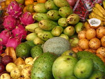 Fruits exotiques Photos stock
