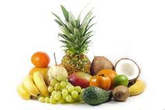 Fruits exotiques et tropicaux Images libres de droits
