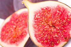 Fruits figs close-up Royalty Free Stock Photos