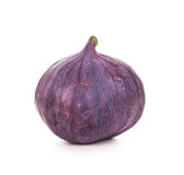 Fruits figs on white background. Royalty Free Stock Photos