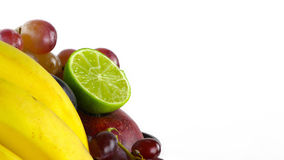 Fruits Fit Life Concept Stock Images