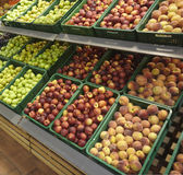 Fruits food market shop Royalty Free Stock Images