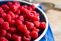 Fruits of the forest: raspberries Royalty Free Stock Photo