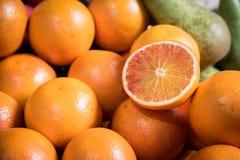Fruits frais d'orange d'agrume photographie stock libre de droits