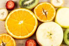Fruits frais de Backgraund Photos libres de droits