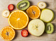 Fruits frais de Backgraund Images stock