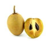 Fruits frais de sapotille Photographie stock libre de droits