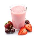 Fruits frais et smoothies Images stock