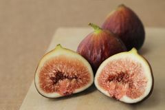Fruits frais, figues Photographie stock libre de droits