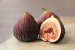 Fruits frais, figues images stock