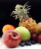 Fruits frais Fond mélangé de fruits Photos stock