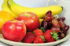 Fruits frais pour le déjeuner images libres de droits