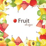 Fruits Frame Royalty Free Stock Images