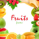 Fruits frame Stock Photo