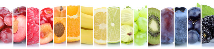 Fruits fruit collection group of orange colorful colors banana b stock images