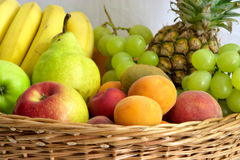 Fruits gathering Stock Photo